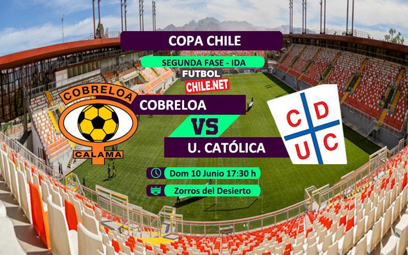 Mira Cobreloa vs Universidad Católica en vivo y online por el partido ida de la segunda fase de la Copa Chile 2018