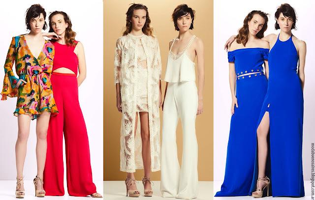 MODA - Moda verano 2017 vestidos, monos, pantalones, blusas y faldas de fiesta verano 2017.