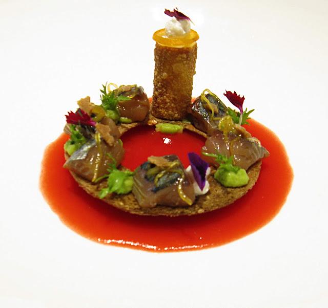 piatto dello chef giuseppe torrisi