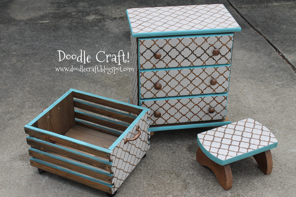 Custom Diy Stenciling Amp Staining Furniture