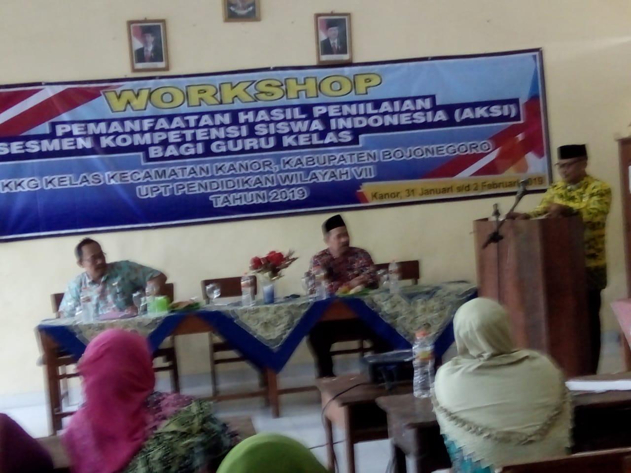 Contoh Laporan Pelatihan Workshop Aksi Asessmen Kompetensi Siswa Indonesia Bersamaguru Com