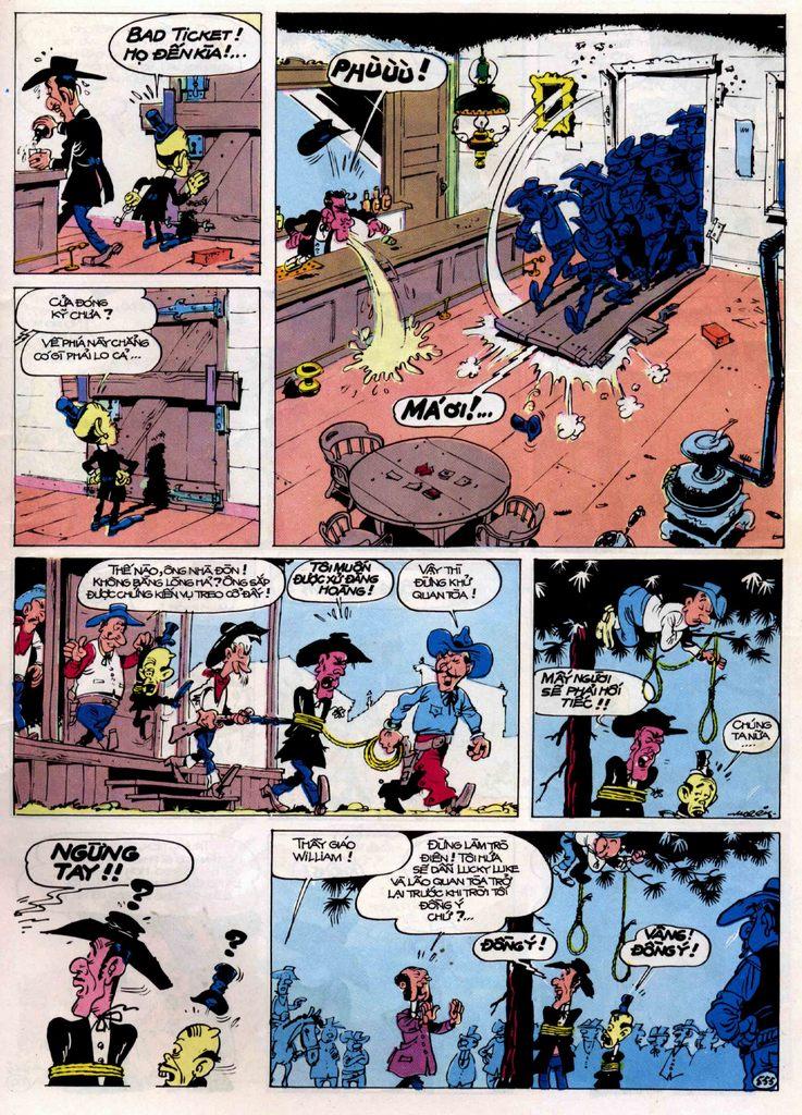 Lucky Luke tập 21 - sợi dây biết hát trang 34