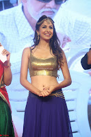 Malvika Raaj in Golden Choli and Skirt at Jayadev Pre Release Function 2017 ~  Exclusive 128.JPG