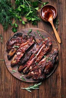 Fall-Off-The-Bone Oven Baked Ribs