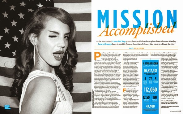 With you Double page spread magazine necessary