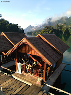 Khao Sok National Park floating jungle hut