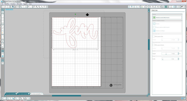 Come utilizzare singoli file .png nella modalità Print & Cut | Silhouette Cameo step10
