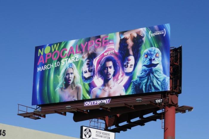 Now Apocalypse Starz billboard