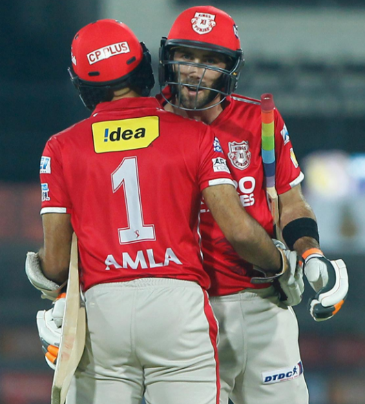 MI vs KXIP Hashim Amla 104 runs in 60 balls highlights