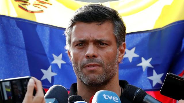 """El gobierno de España advirtió que """"limitará"""" las actividades políticas de Leopoldo López en la embajada"""