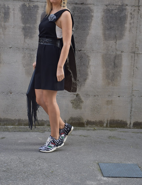 little black dress how to wear black little dress october outfit  mariafelicia magno fashion blogger web influencer italiane