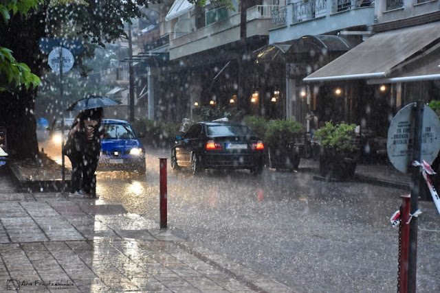 Έκτακτο Δελτίο Επιδείνωσης Καιρού: Ισχυρές βροχές και καταιγίδες