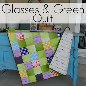 Glasses and Greens  Quilt