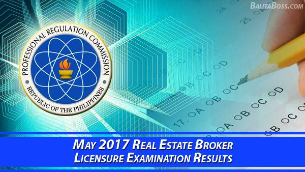 Real Estate Broker May 2017 Board Exam