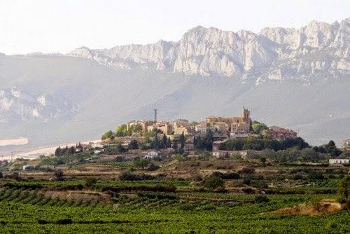 Perfil de Laguardia.Fuente: www.livingspain.es