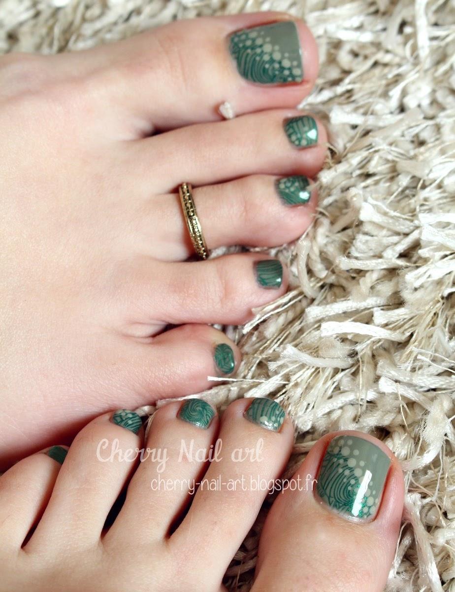 CHERRY NAIL ART - Blog mode beauté: 2 nail art sur les pieds + tuto ...