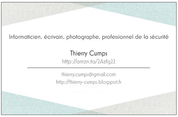 Thierry Cumps - carte de visite