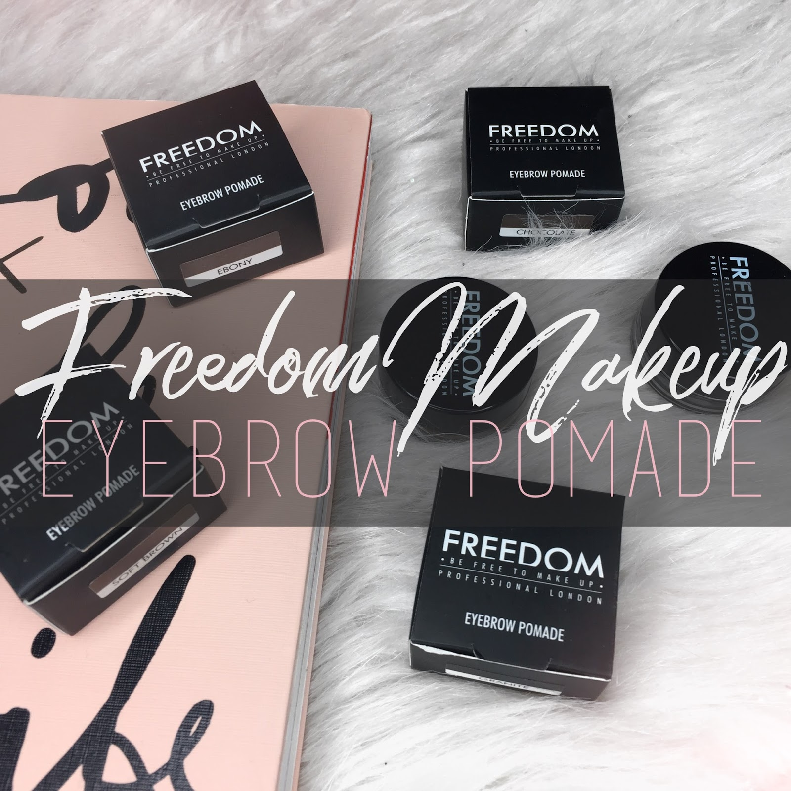 FREEDOM Makeup: Pro Brow Pomade perfect for Brown Hair.