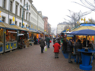 Christmas Market in Weisbaden, Germany