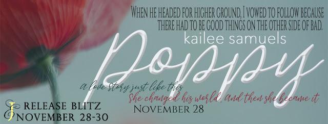 POPPY by Kailee Samuels @KRSamuels @EJBookPromos #newrelease #mustread #unratedbookshelf