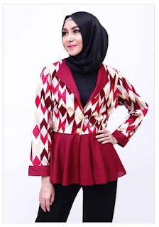 Style Fashion Busana Muslim Modern untuk Wanita Karir Update