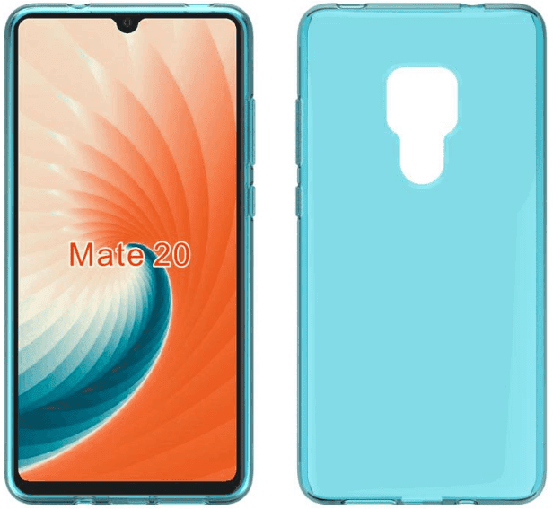 Huawei Mate 20 Case Leaks, Show Large Cuts for Triple Camera and Fingerprint Scanner