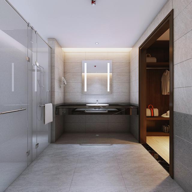 Căn mẫu phòng vệ sinh Luxury Đà Nẵng