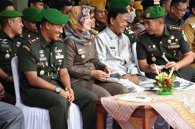 TNI AD Lampung Adakan Mutasi, Danrem: Hal yang Biasa
