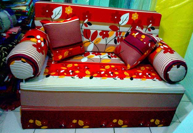 Sofa Bed Kasur Busa Lipat Inoac Jakarta Modern Faux Leather Harga Surabaya - Online