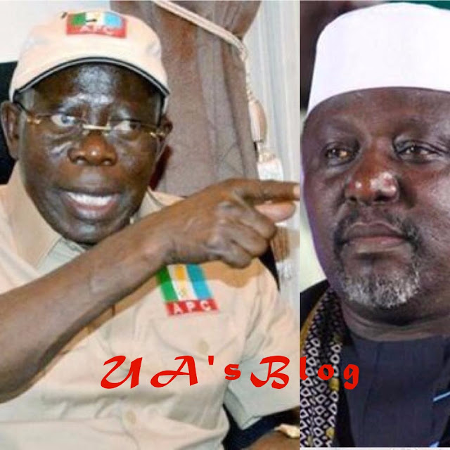 BREAKING: You're Free To Leave APC, Your Son-In-Law Stands Rejected — Oshiomhole Lambasts Okorocha