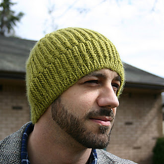 Cozy Ribbed Hat Pattern by Helen Rose