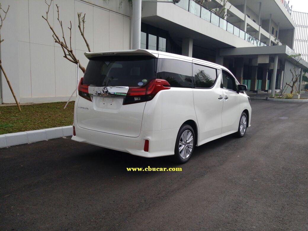All New Toyota Vellfire 2017 Grand Veloz Silver Alphard 2 5 Sc Pusat Mobil Cbu