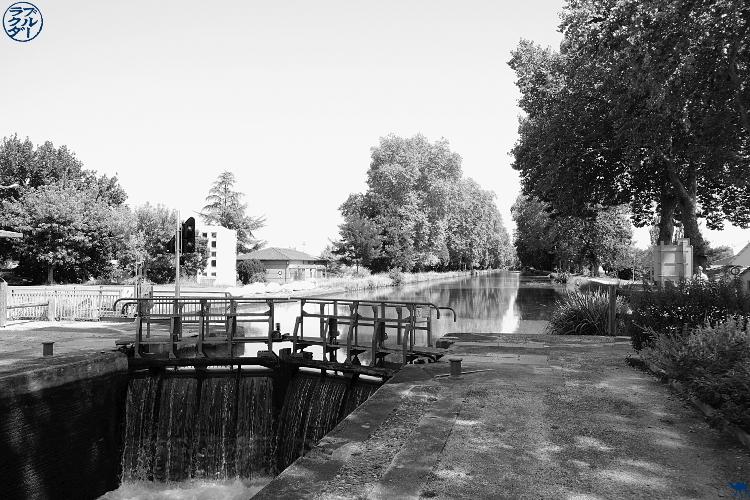 Le Chameau Bleu - Blog Voyage à Vélo sur le Canal de l'Entre deux Mers - Ecluse du Tarn et Garonne
