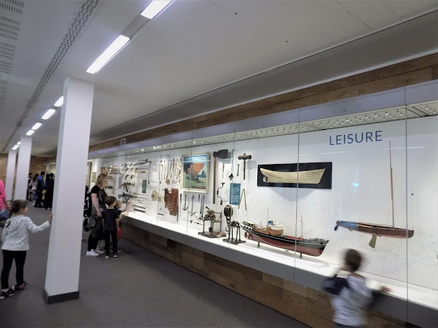 Shipping display at National Maritime Museuem in Greenwich