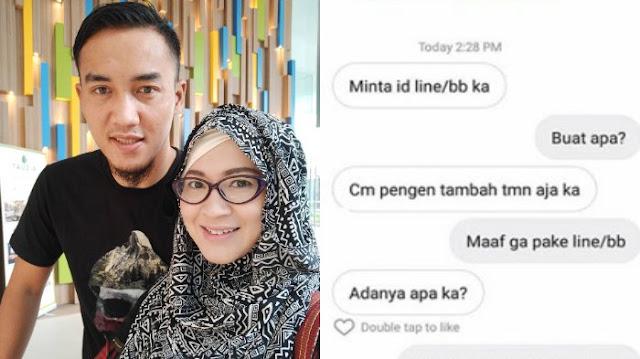Buka Chat Suami sama Perempuan Lain, Okie Agustina Hanya Bisa Nyengir, Netizen: Pelakor Merajalela