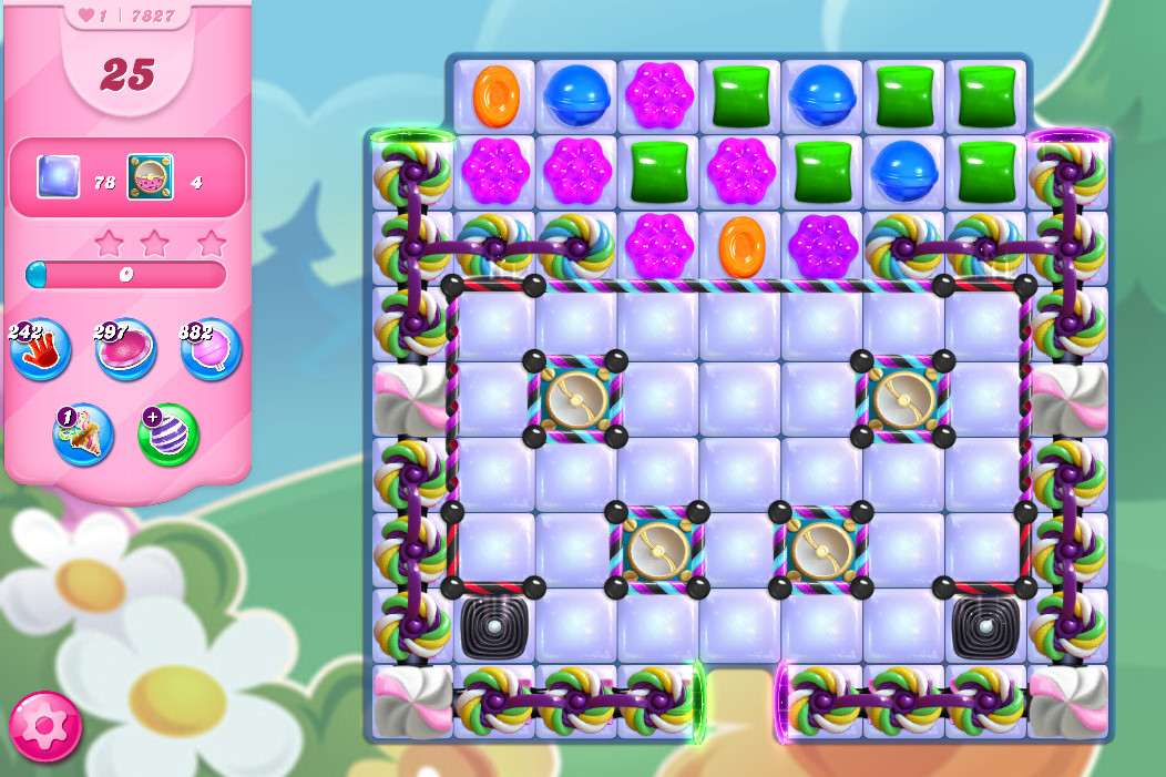 Candy Crush Saga level 7827
