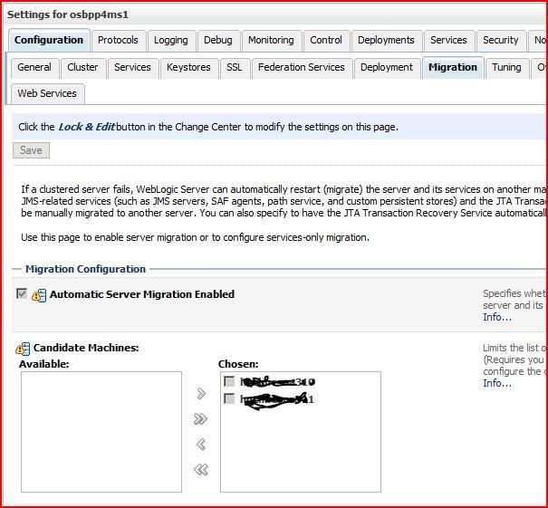 Java mon amour: Consensus-based Whole Server Migration