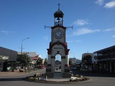 Torre del Reloj, Hokitika, Nueva Zelanda