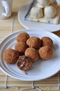(Włoskie trufle czekoladowe