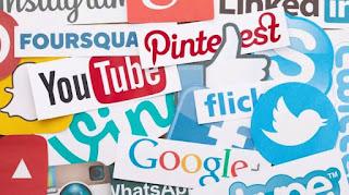 Jenis media sosial paling banyak digunakan