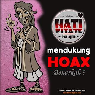 HATI PITATE menudukung penyebaran HOAX ?