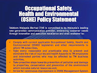 New TM OSHE Policy 2014