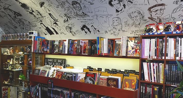 Viagem na Europa: coisas que você vai amar fazer na França - Livraria de quadrinhos