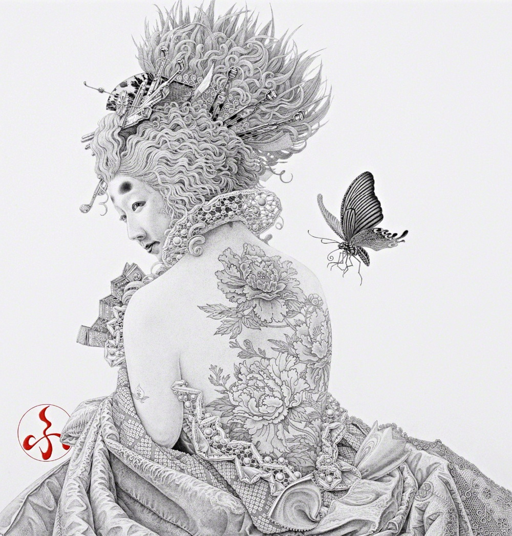 彌月風太朗 Futaro Mitsuki |Pencil/paper Drawing