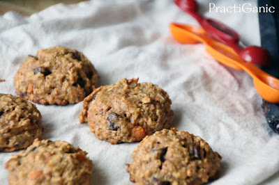Gluten Free Sweet Potato Power Cookies