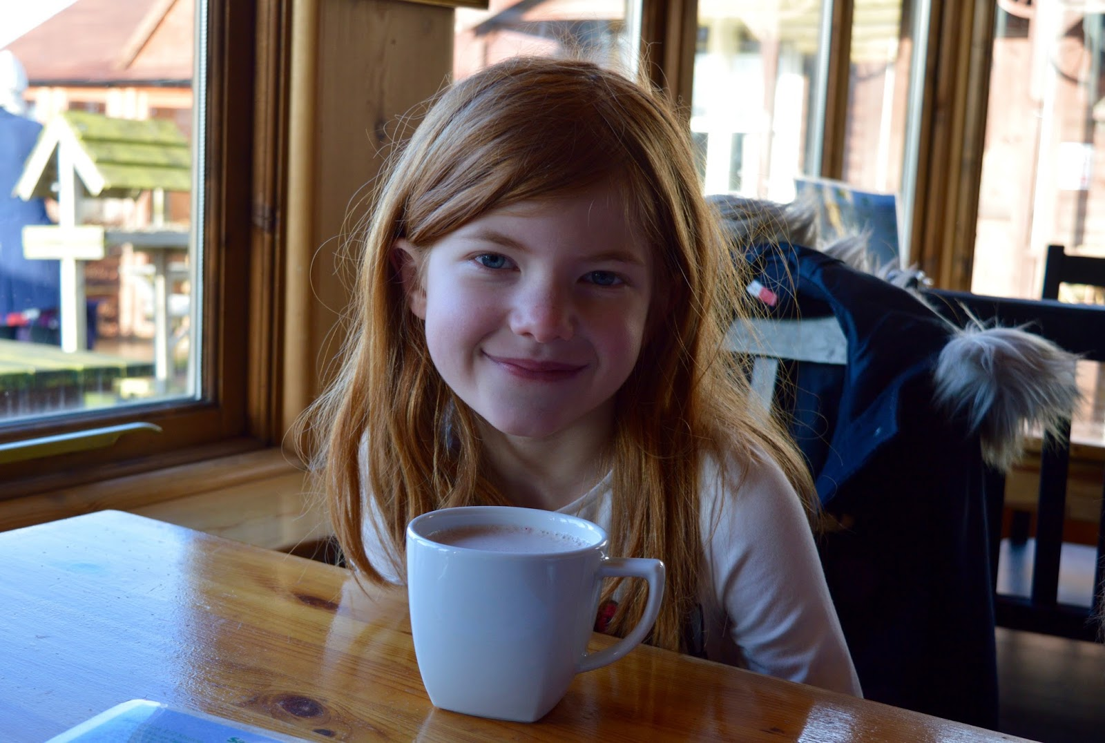 Northumberland County Zoo Reviews - hot chocolate in cafe