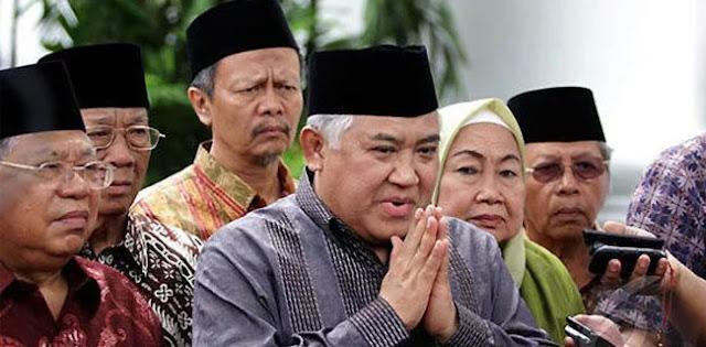 Din Syamsuddin: Agama Harus Ditampilkan Pada Dimensi Kemanusiaan