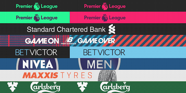 PES 2013 Atletico Madrid, Leicester City, Liverpool, Man. City Adboards for GDB by m4rcelo