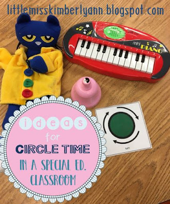 Circle Time in a Special Education Classroom