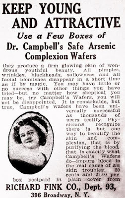 Dr. Campbell's Safe Arsenic Complexion Wafers